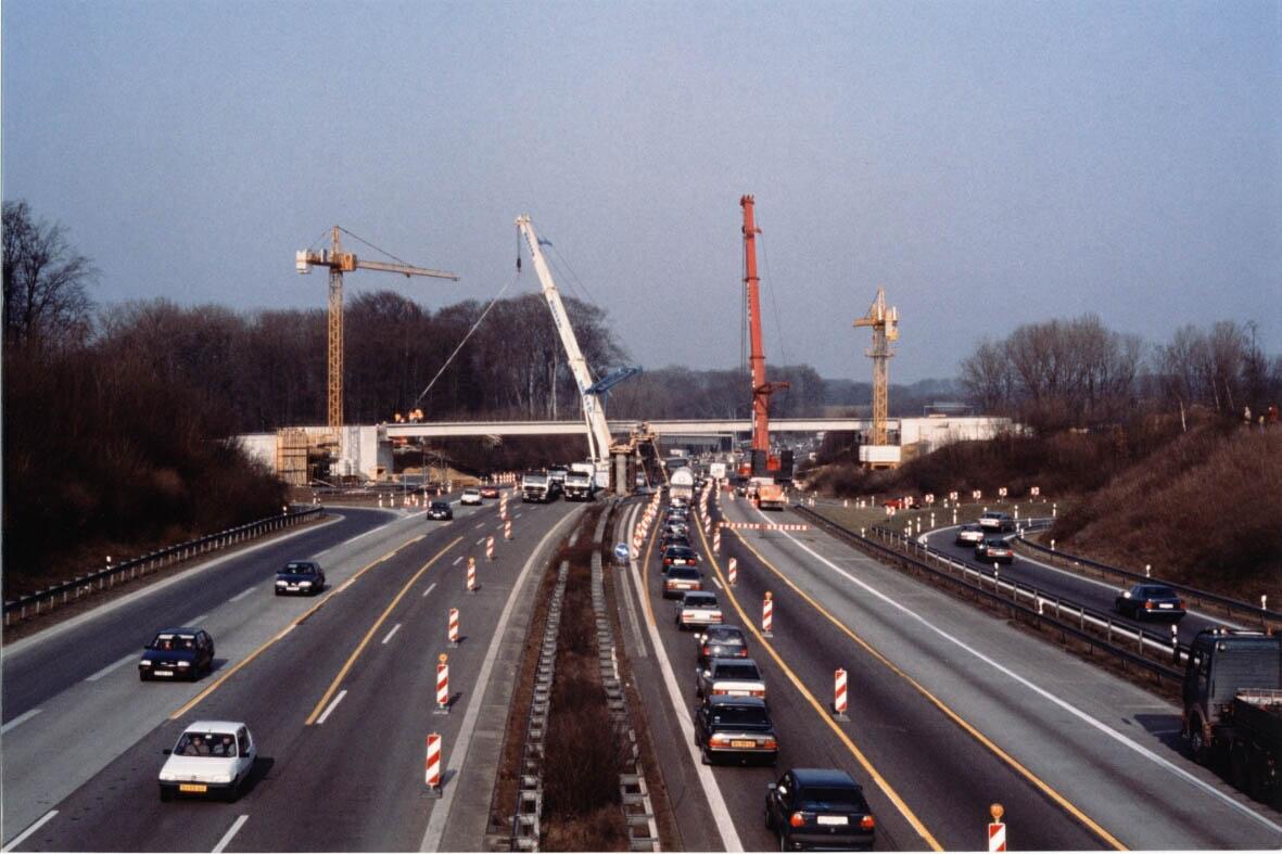 A45: Brückenbauarbeiten bei Lüdenscheid-Nord