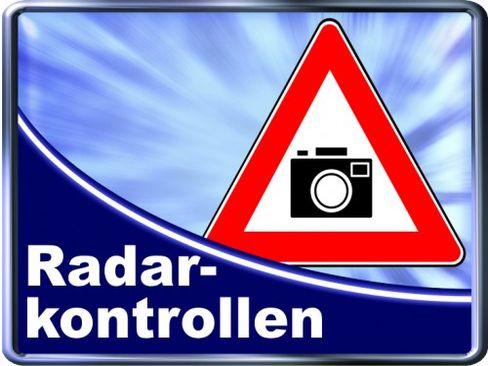"""Städtische Radarkontrollen: Hier """"blitzt"""" die Stadt in der nächsten Woche"""