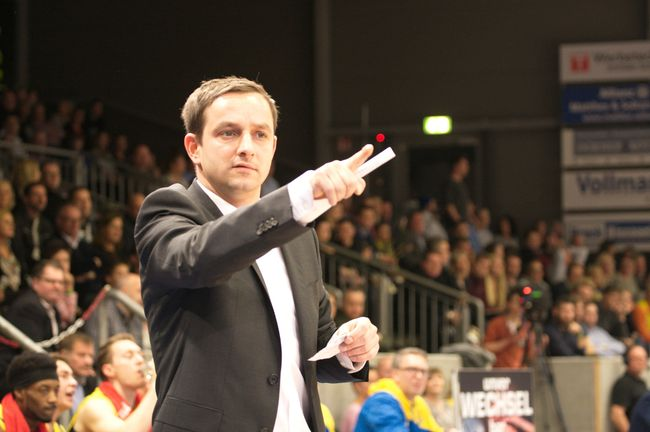Hagens neuer Trainer Kevin Magdowski - © by Is.-Nachr. (MK)