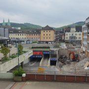 Abbruch der Schillerplatzbrücke noch in diesem Jahr