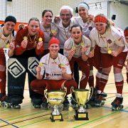 Rollhockey Pokal der Damen: Der Pott bleibt ein weiteres Jahr in Iserlohn