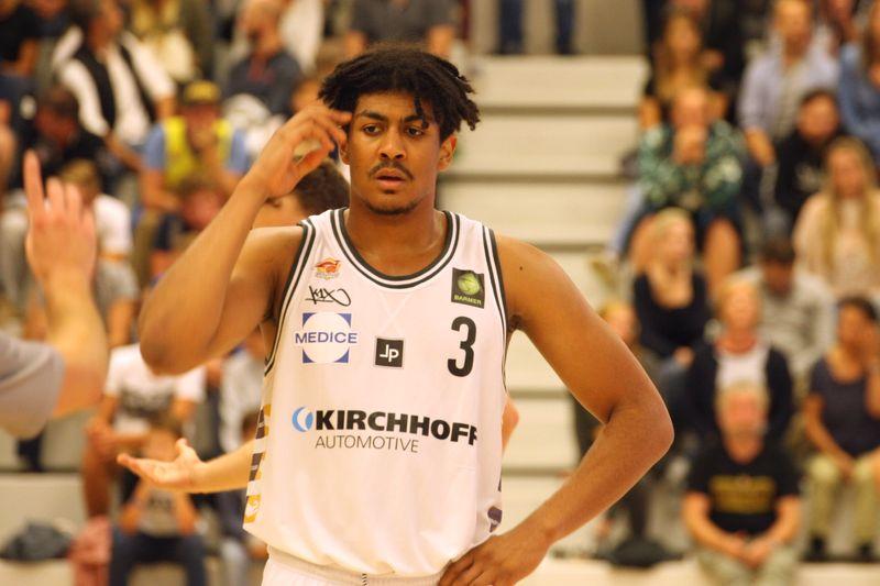 Basketball Testsoiel Iserlohn Kangaroos - Phoenix Hagen Gabriel De Oliveira - © by Sportstimme.de (MK)