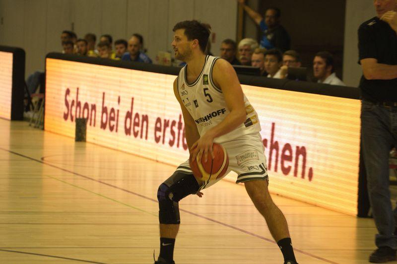 Basketball Testsoiel Iserlohn Kangaroos - Phoenix Hagen Kristof Schwarz - © by Sportstimme.de (MK)