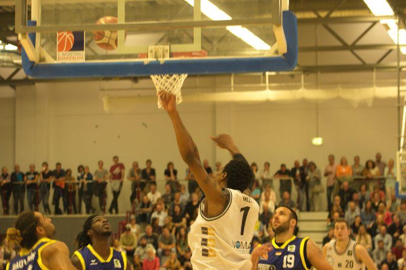 Basketball Testsoiel Iserlohn Kangaroos - Phoenix Hagen / Lamar Mallory - © by Sportstimme.de (MK)