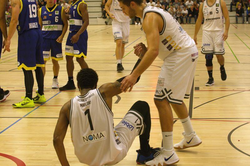 Basketball Testsoiel Iserlohn Kangaroos - Phoenix Hagen Lamar Mallory - © by Sportstimme.de (MK)