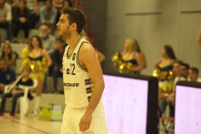 Basketball Testsoiel Iserlohn Kangaroos - Phoenix Hagen / Ruben Dahmen - © by Sportstimme.de (MK)