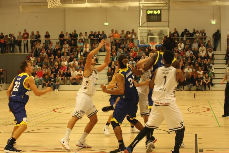 Basketball Testsoiel Iserlohn Kangaroos - Phoenix Hagen - © by Sportstimme.de (MK)