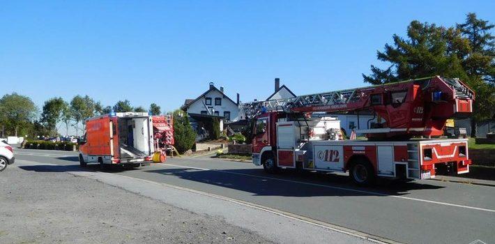 Küchenbrand in Kalthof/Leckingsen