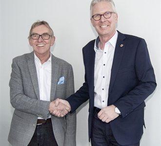 Bürgermeister begrüßt Dirk Matthiessen als neuen Stadtmarketing-Leiter