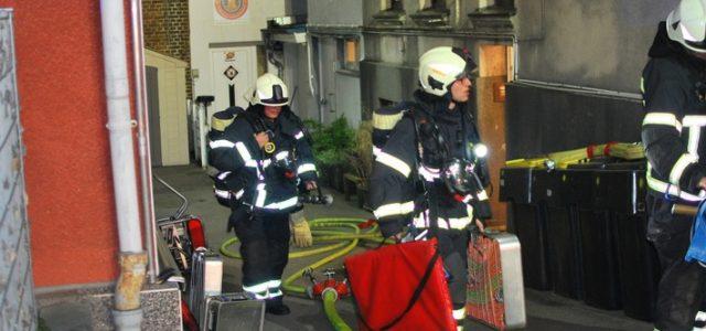 Wohnungsbrand an der Weidenstraße
