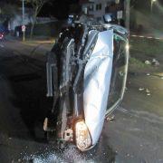 Fünf Verletzte nach Verkehrsunfall