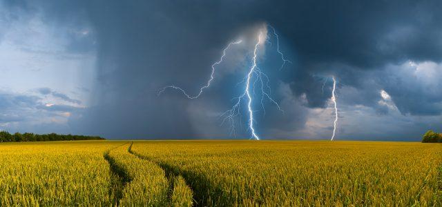 Heißer Start in den Sommer  Gewitter und Schauer in schwüler Luft