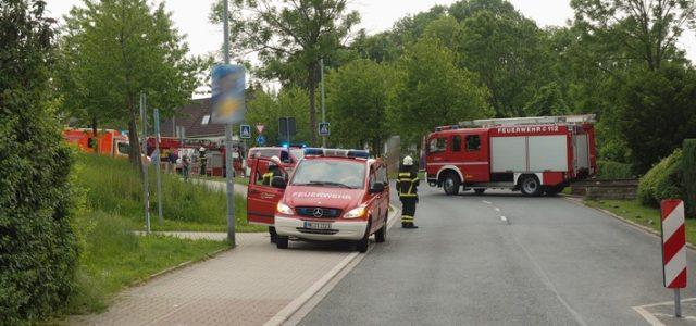 Heckenbrand in Iserlohn-Sümmern