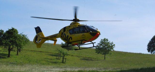 Kradunfall auf der B 236 – ein Schwerverletzter