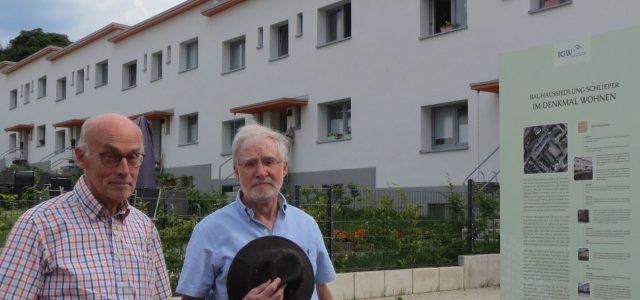 """Architektensohn Klaus Hennemann auf den Spuren seines Vaters: Besuch am """"Schlieperblock"""" in Iserlohn"""