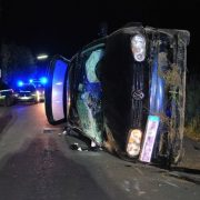 Verkehrsunfall – dramatischer Notruf am Abend