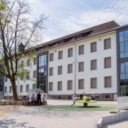 Erster Schultag der Gesamtschule Seilersee am Standort Seilersee