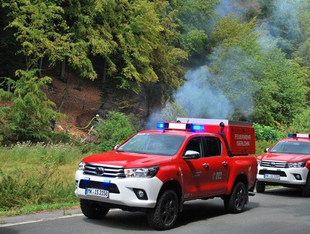 Waldbrandgefahr nimmt zu