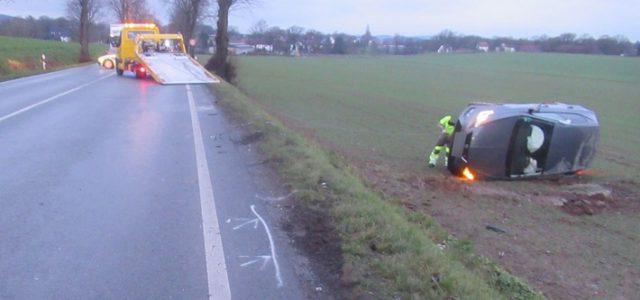Zwei Verletzte nach Verkehrsunfall auf dem Bräukerweg