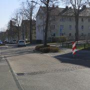 Fußgängerüberweg Nußbergstraße / Ecke Arpkestraße wird ab Montag gebaut