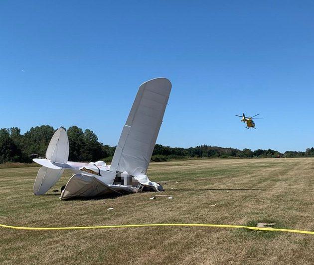Ermittlungen nach Absturz eines Ultraleichtfliegers