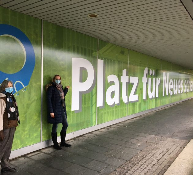 """""""Platz für Neues"""" – Schaufenstergestaltung am Schillerplatz-Areal"""