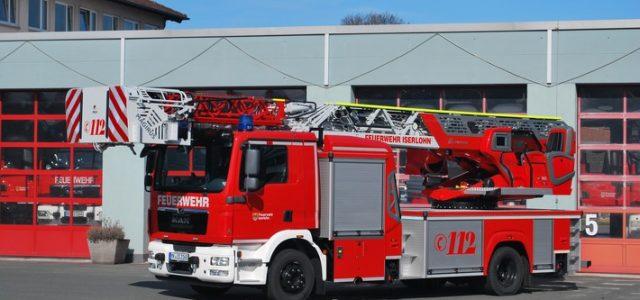Neue Drehleiter für die Feuerwehr Iserlohn