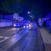 Kaminbrand an der Hagener Straße