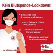 Kein Blutspende-Lockdown