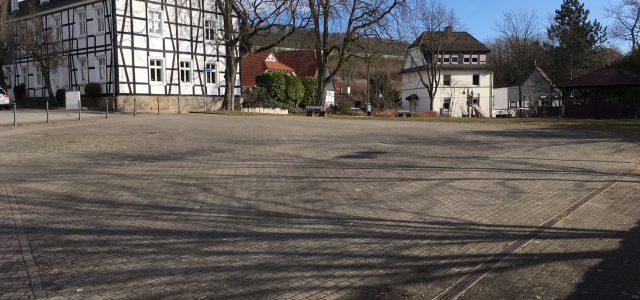 Neugestaltung des Herbert-Nolte-Platzes in Oestrich beginnt