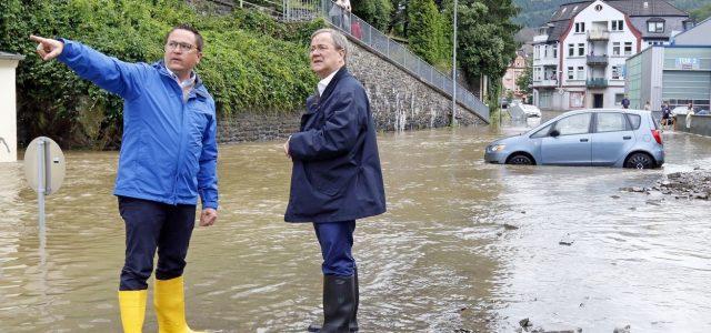 Ministerpräsident und Landrat suchen Dialog vor Ort