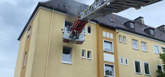 Küchenbrand in der Innenstadt