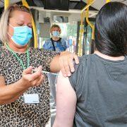 Impfaktion im StrandGarten des Sauerlandparks Hemer Wer zum Impfen kommt, kann den Rest des Tages bei freiem Eintritt im Park genießen