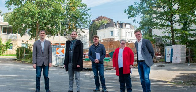 Erweiterung des Verwaltungstraktes am Gymnasium An der Stenner – Aktueller Baufortschritt